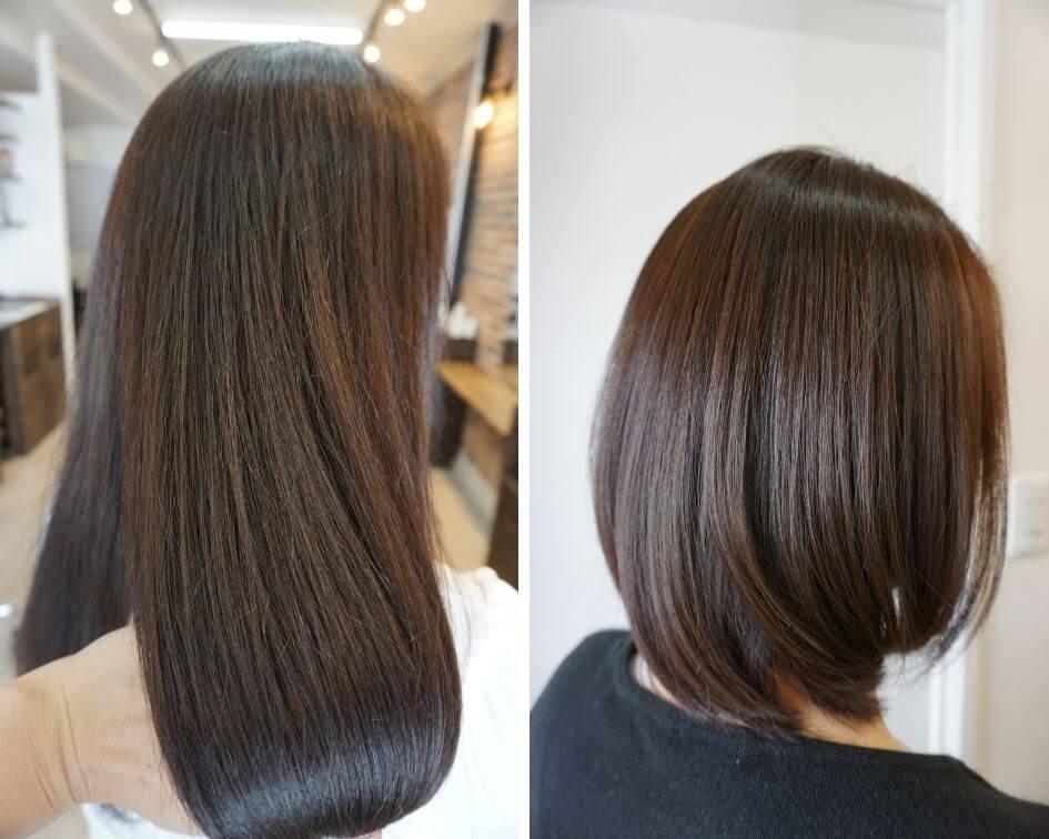 髪質改善、縮毛矯正
