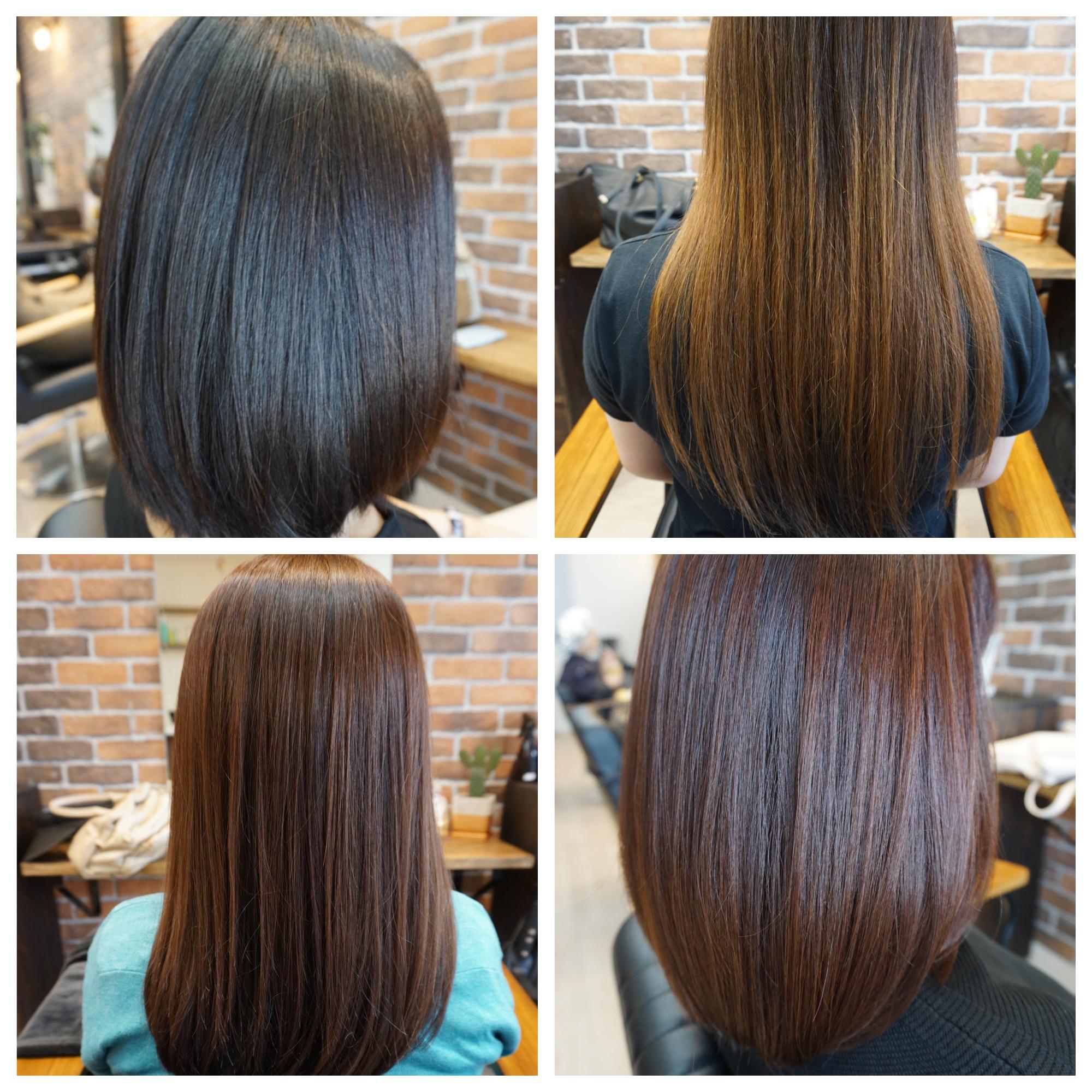 髪質改善 つや髪